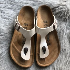 Birkenstock Gizeh Pearl Thong Sandals 37 R